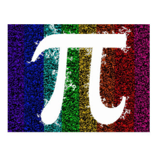 Pi Sign Electric Post Card
