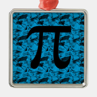 Pi Sign Metal Ornament