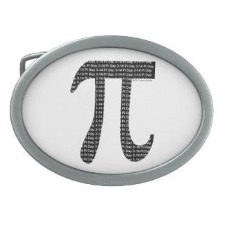 Pi Simple Belt Buckle