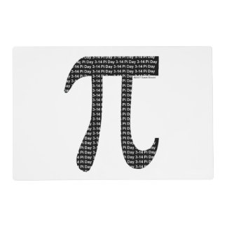 Pi Simple Placemat