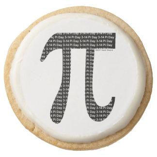 Pi Simple Round Premium Shortbread Cookie