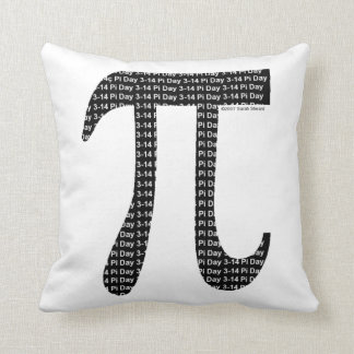 Pi Simple Throw Pillow