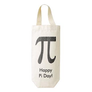 Pi Simple Zazzle HEART Wine Bag