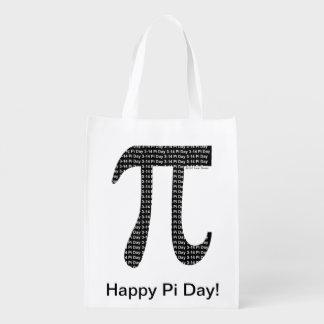 Pi Simple Reusable Grocery Bag