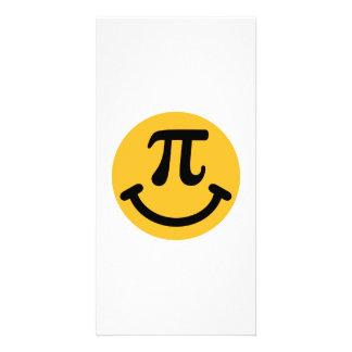 Pi Smiley Custom Photo Card
