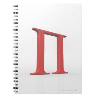 Pi Spiral Notebook