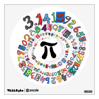 Pi sPiral Wall Decal