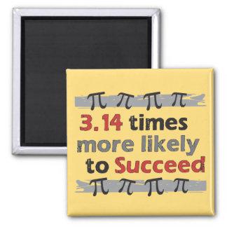 Pi Success 2 Inch Square Magnet