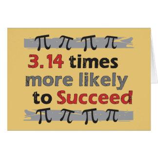 Pi Success Cards