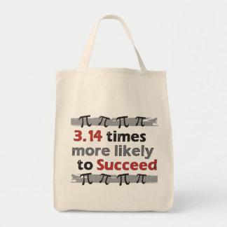 Pi Success Tote Bag