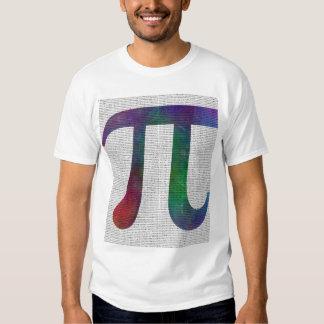 Pİ Symbol 14400 Digits T Shirt