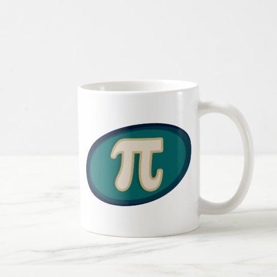 Pi Symbol 3.14 Coffee Mug