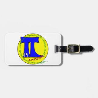 Pi Symbol 3.14 Ultimate Bag Tag
