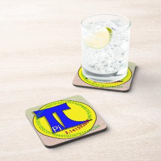 Pi Symbol 3.14 Ultimate Beverage Coaster