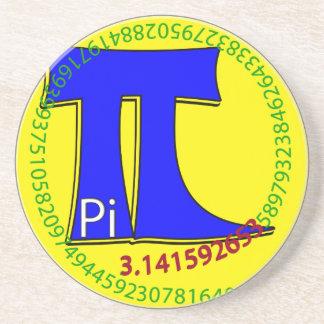 Pi Symbol 3.14 Ultimate Drink Coaster