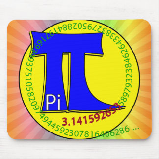 Pi Symbol 3.14 Ultimate Mouse Pad