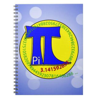 Pi Symbol 3.14 Ultimate Notebook