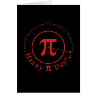 Pi Symbol Art, Happy Pi Day Card
