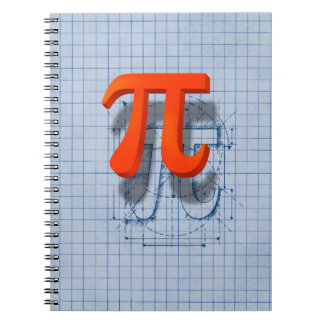 Pi Symbol Art Note Book