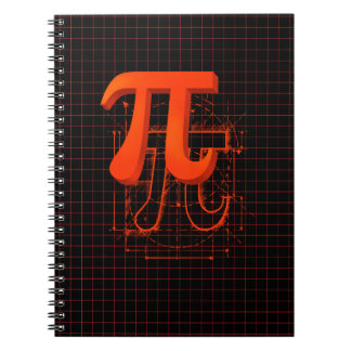 Pi Symbol Art Notebook