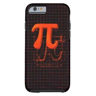 Pi Symbol Art Tough iPhone 6 Case