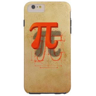 Pi Symbol Art Tough iPhone 6 Plus Case