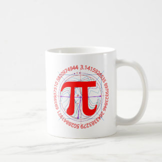 Pi Symbol Drawing Coffee Mug