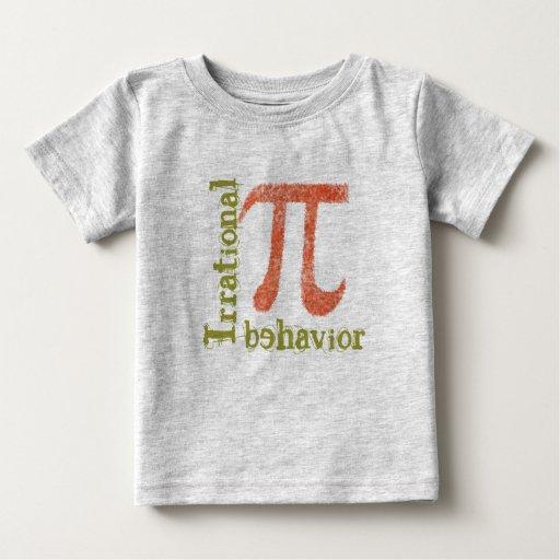 Pi Symbol Irrational Behavior Infant's T shirt