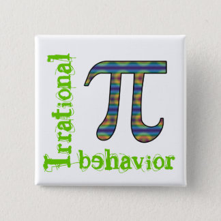 Pi Symbol Irrational Behavior Pin