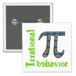 Pi Symbol Irrational Behavior Pin