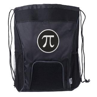 Pi Symbol - Math Drawstring Backpack