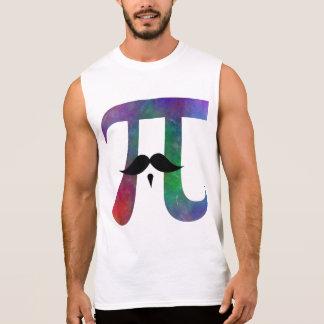 Pi Symbol Mustache Tee Shirt