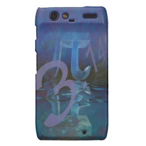 Pi Symbol phone case Motorola Droid RAZR Covers