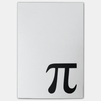 Pi Symbol Post-it Notes