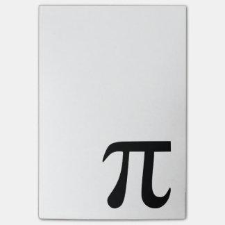 Pi Symbol Post-it® Notes