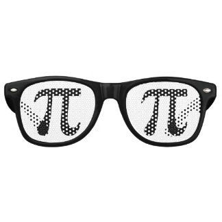 Pi Symbol Retro Sunglasses