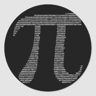 Pi Symbol Sticker
