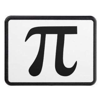 Pi Symbol Trailer Hitch Cover