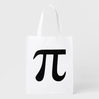 Pi Symbol Market Totes