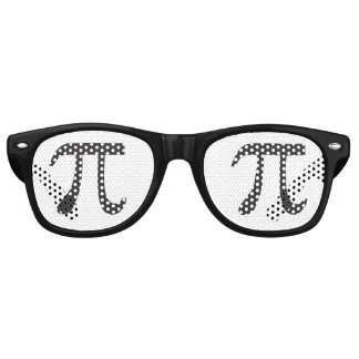 PI Symbols Pi Day Retro Sunglasses