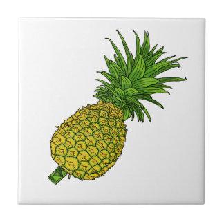 Pi the Pineapple Ceramic Tile