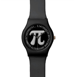 Pi Time Art Wrist Watches
