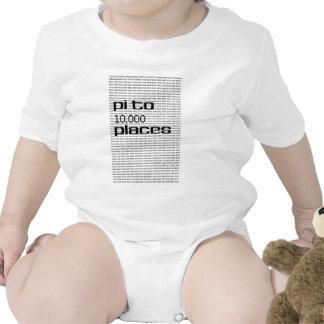 Pi to 10000 places bodysuit