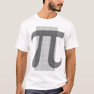 Pi to 10,000 decimal places T-Shirt