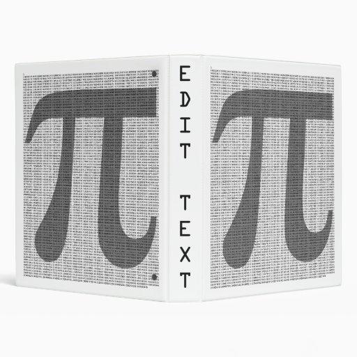 Pi to 10,000 Decimals Binder