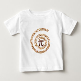 Pi to the Hundredth Decimal Place Baby T-Shirt