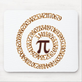 Pi to the Hundredth Decimal Place Mouse Pad