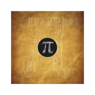 Pi Typed Design Text Symbol | Math Canvas