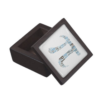 Pi Typed Text Symbol   Geek Gift Box