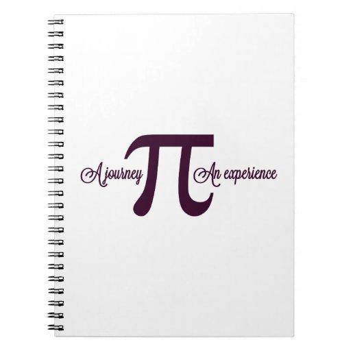 Pi: Un viaje. Una experiencia Libro De Apuntes Con Espiral